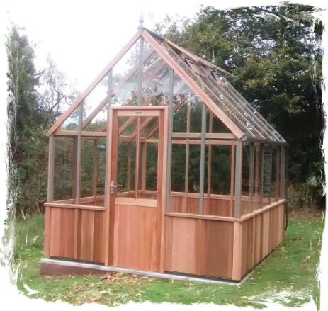 Alton Half Boarded Greenhouse